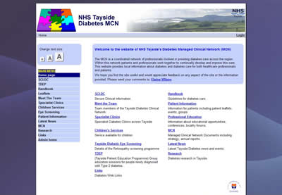 The Tayside Diabetes MCN